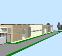 Výstavba administratívnych askladovych priestorov –  kvetinárstvo