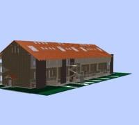 Prestavba vidieckeho sila na bytový komplex