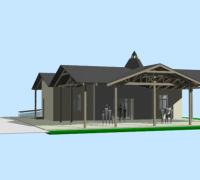 Rekonštrukcia aprístavba domu smútku – zastrešenie